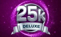 25k Deluxe Scratchcard