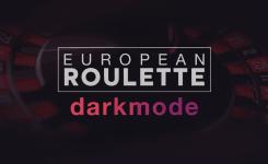 European Roulette - Dark mode
